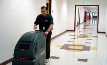 почистване с професионални машини