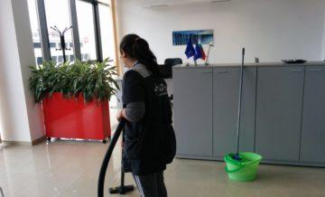 почистване на сгради