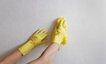 почистване на замърсявания от стени